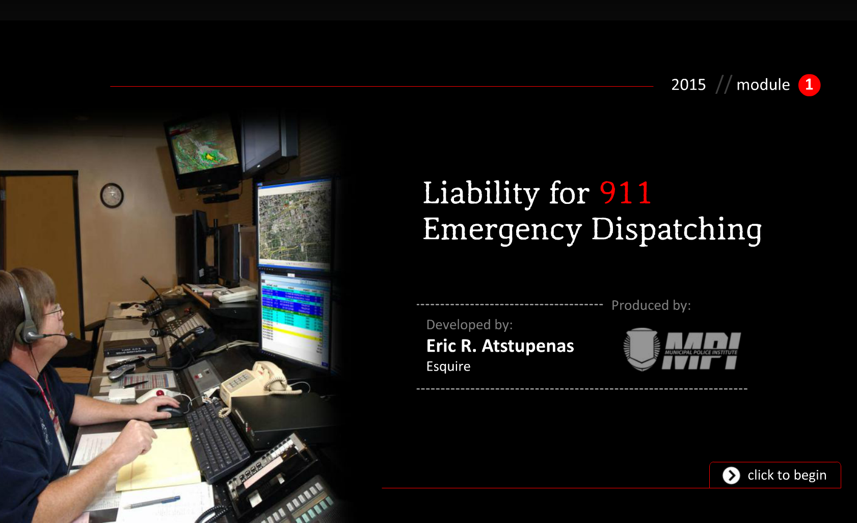 Liability for 911 Emergency Dispatching